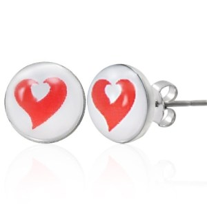Stud Earrings at Spoil Me Silly .Com jewellery  LEB090