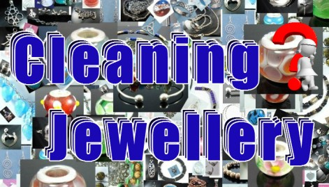 cleaning jewellery