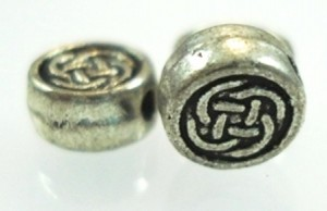 Celtic knot beads