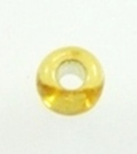 gold glass seed beads