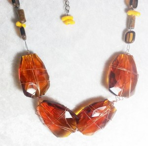 Glass necklace jewellery  http://spoilmesilly.com.au/