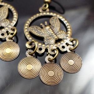 Earrings Butterfly