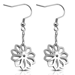 Snowflake Hook Earrings