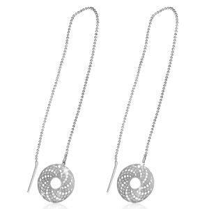 Mandala Thread Earrings
