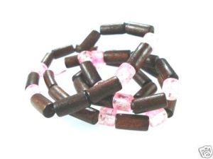NEW-MENS-WOMENS-BEADED-WOOD-COCO-SURF-WOODEN-NECKLACE-150397303330