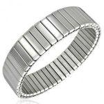 Stainless Steel Watch Band Jewelry Bracelet Bangle