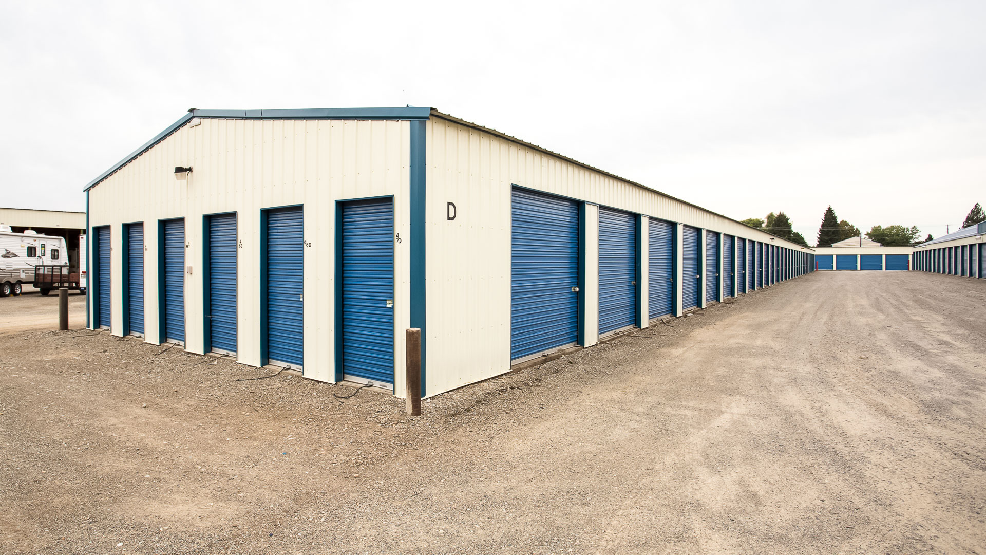 Storage Facility Real Estate Marketing with Drones