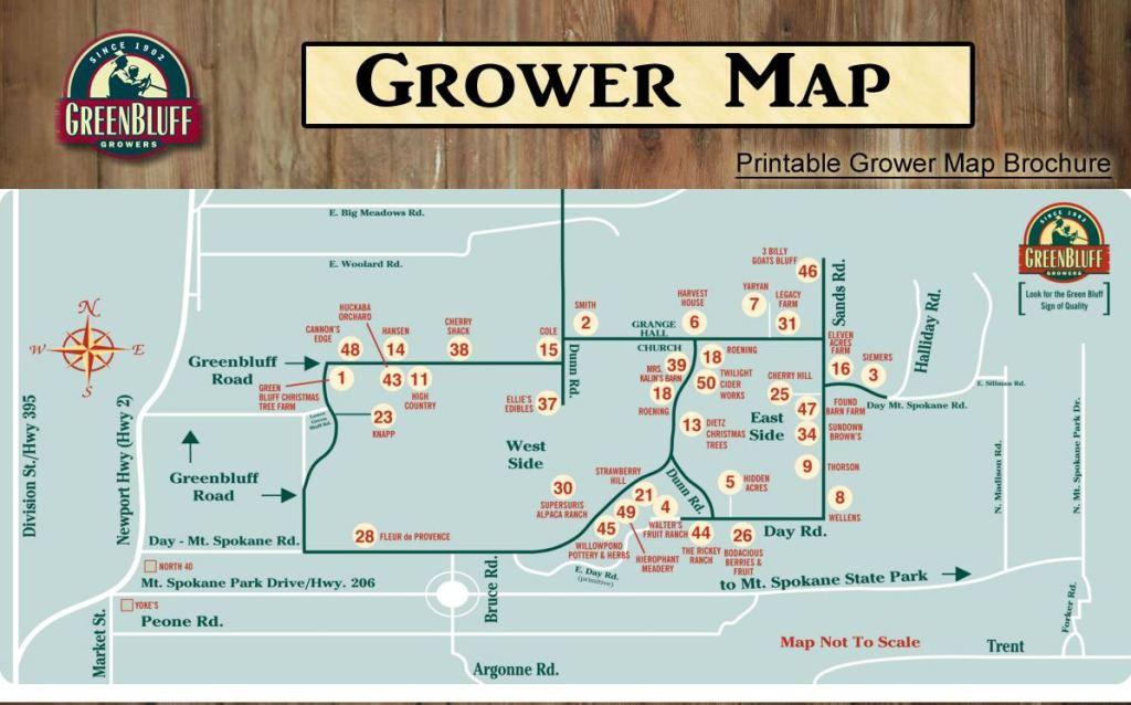 Greenbluff Grower Map