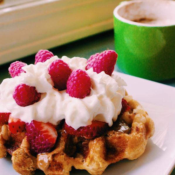 scoop waffle