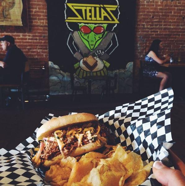 stellas- sandwich