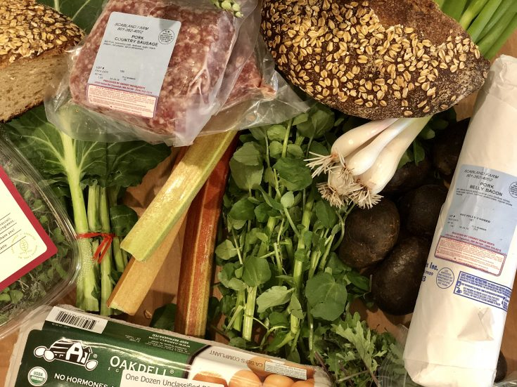 Local Produce Box Spokane