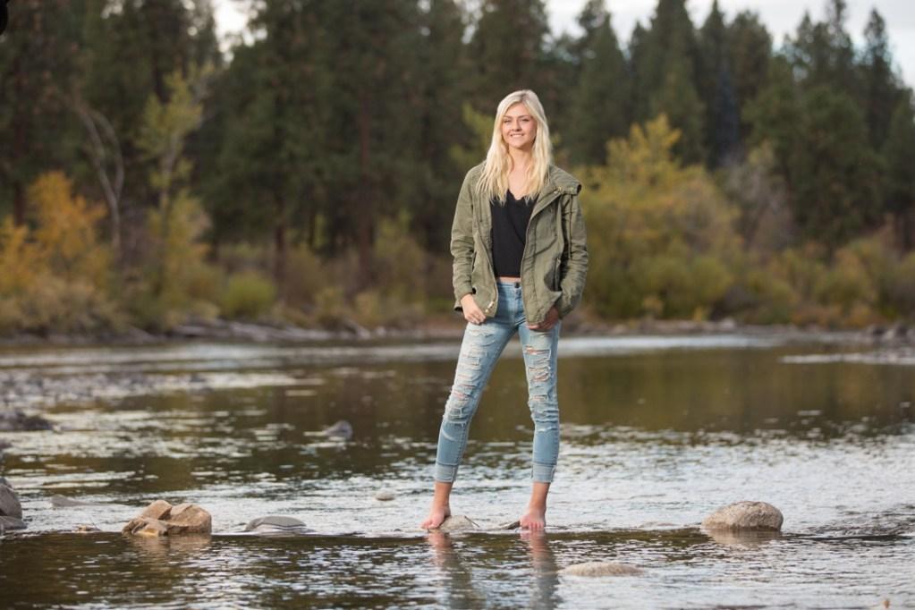 Senior photos Spokane WA in the Fall