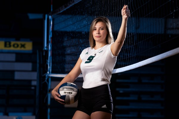 volleyball senior photo