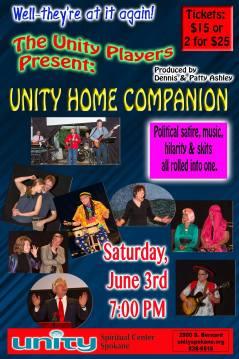 Unity Home Companions @ Unity Spiritual Center |  |  |