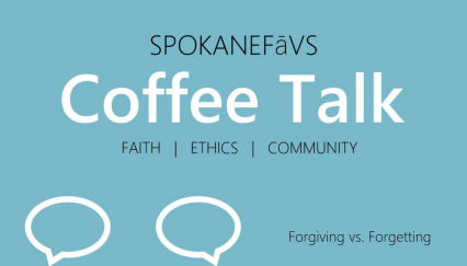 Coffee Talk: Forgiving vs. Forgetting @ Saranac Commons |  |  |
