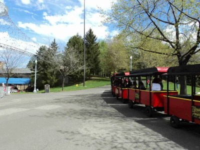 Another View of the Tour Train in Riverfront Park