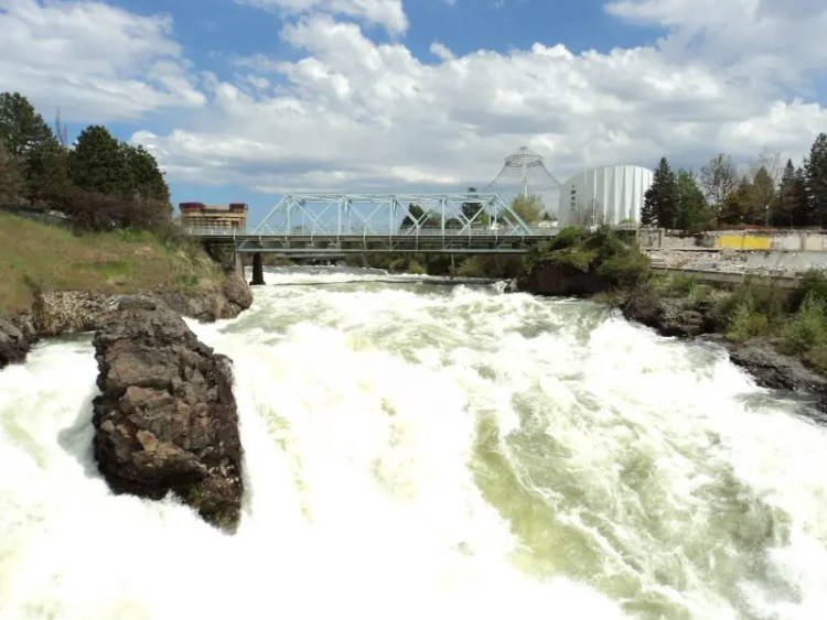 Spokane Upper Falls