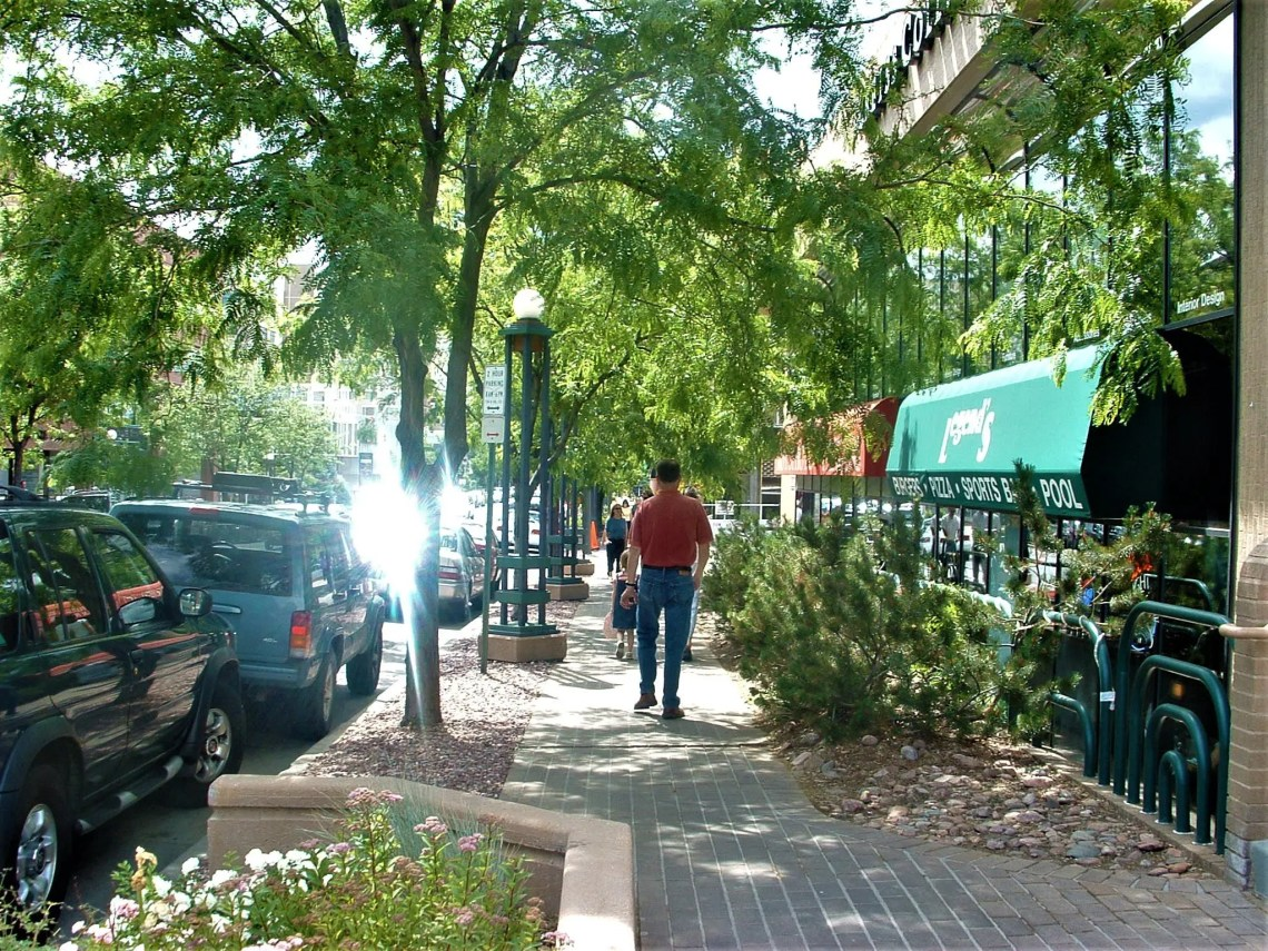 Cherry Creek Sidewalks