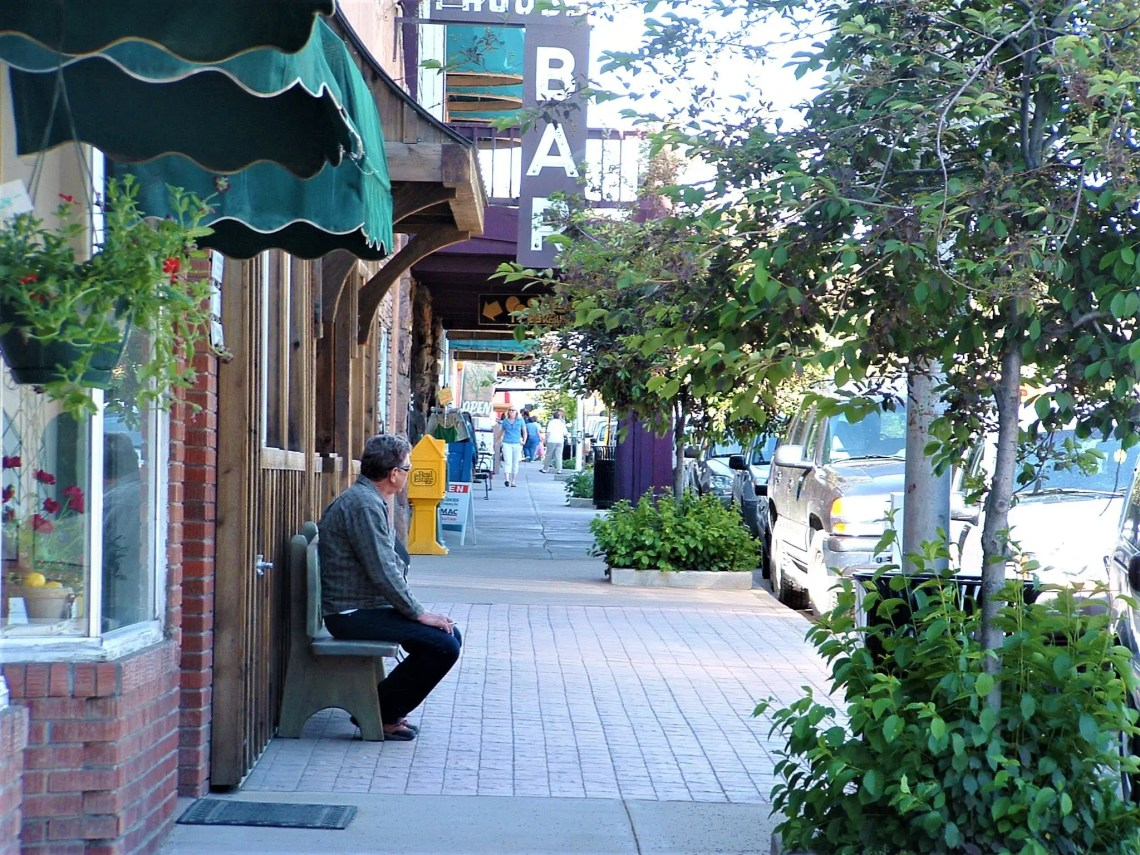 Pagosa Springs Colorado Sidewalks