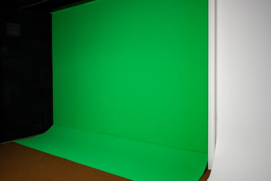 green screen wall in spokane washington