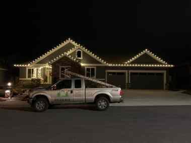Christmas Light Installation 9