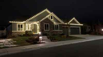 Christmas Light Installation 10