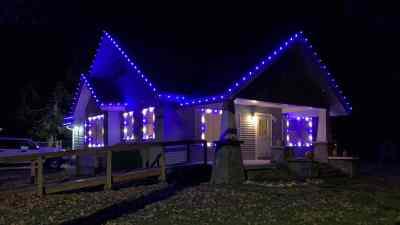 Christmas Light Installation 14