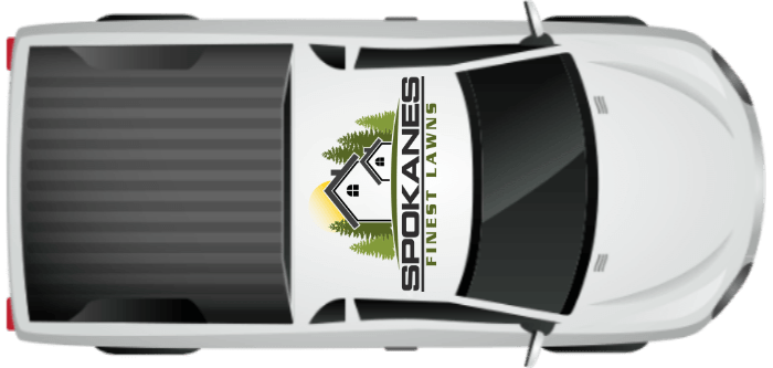 Spokanes Finest Lawns lawn care truck