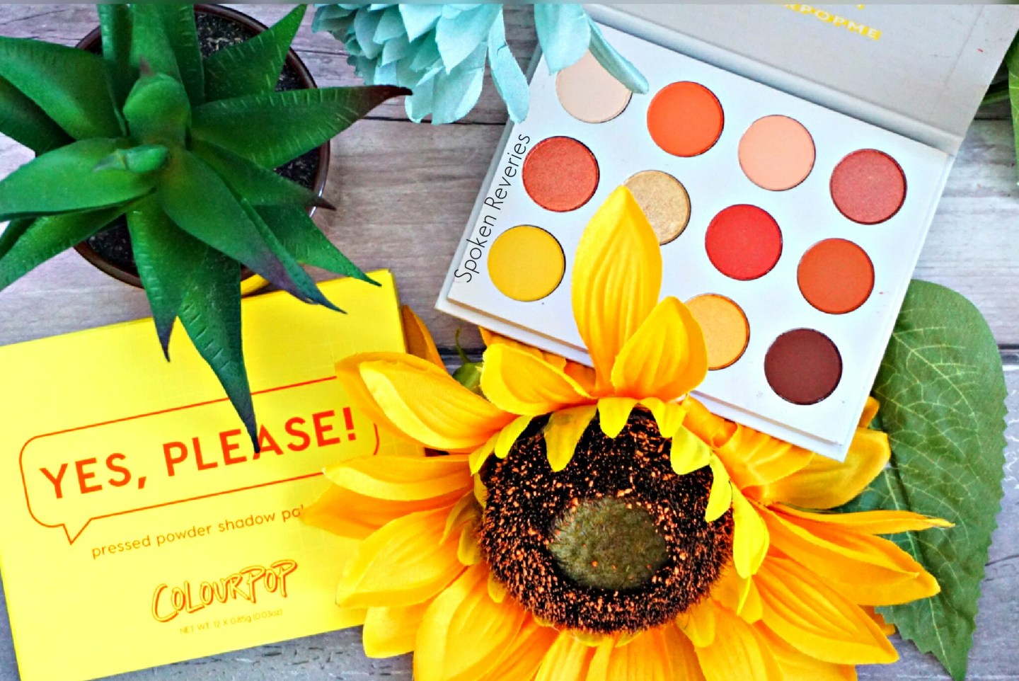 BEAUTY HIGHLIGHT | Colourpop Yes, Please Eyeshadow Palette