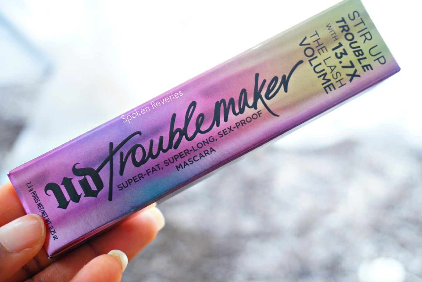 Is it really sex-proof?! Urban Decay Troublemaker Mascara