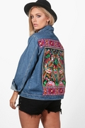 Boohoo Embroidered Jacket