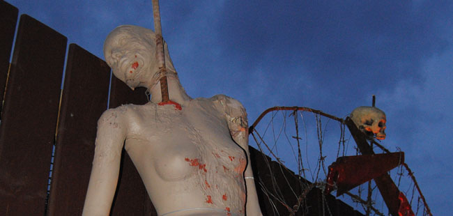 Will you survive the Scream Park?