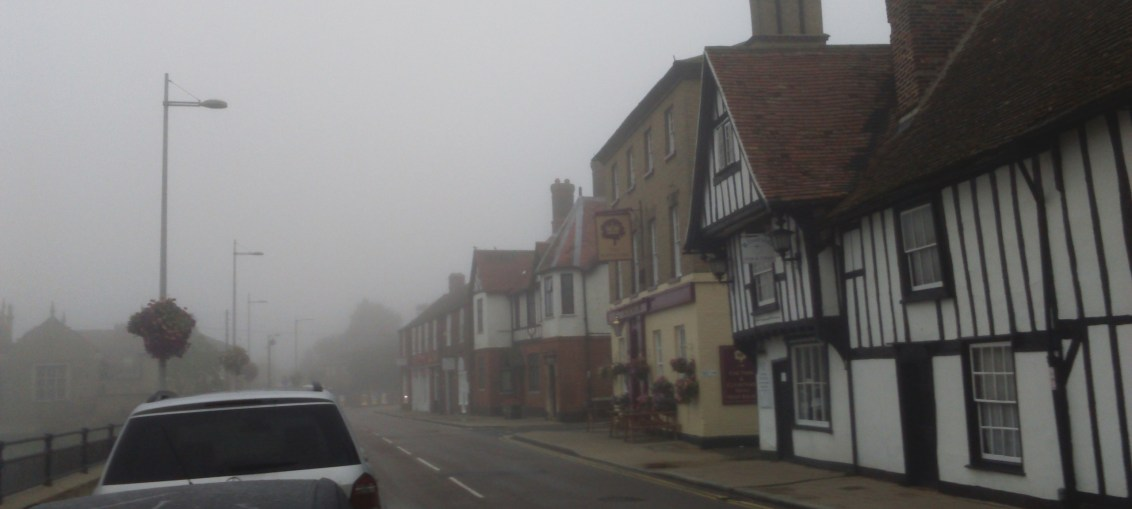 Godmanchester in the mist