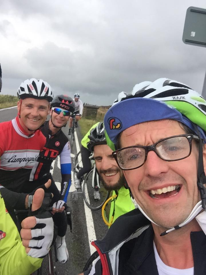The others at the top of Holme Moss
