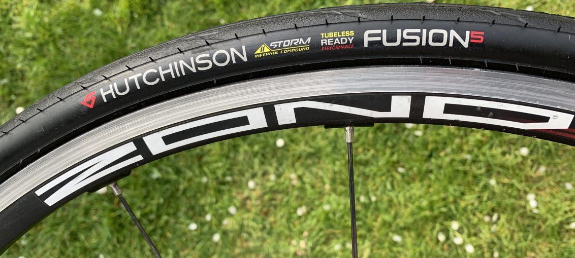 Hutchinson Fusion 5 Tyre Fitted