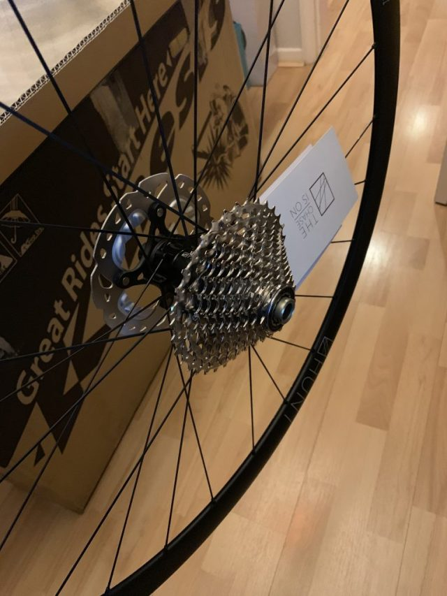 Shimano 105 Cassette Fitted