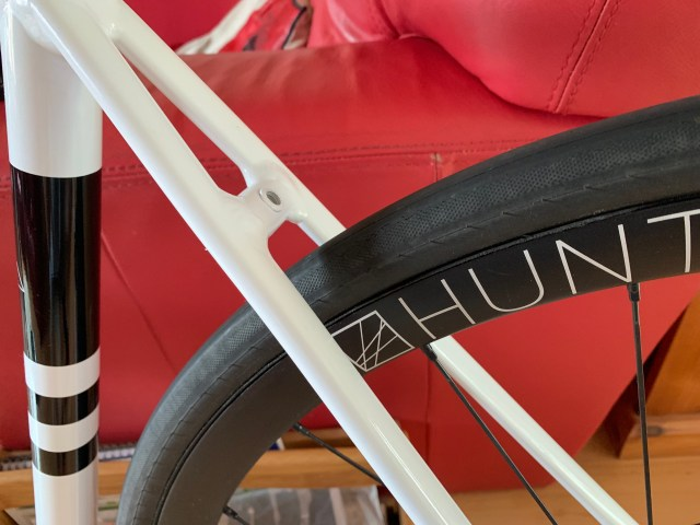 Hunt Rear Wheel in RTD frame