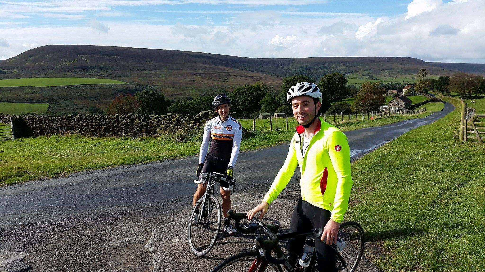 Picking up an additional 2 climbs in the North York Moors