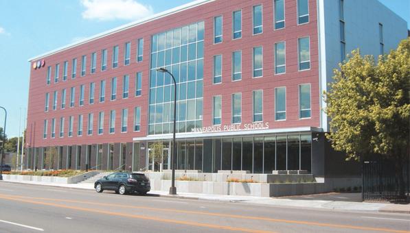 Minneapolis Public Schools District Headquarters Photo by Charles Hallman
