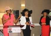 (l-r) Charlitta Moss, Dedra Powell and Elsie Clemmons