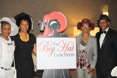 (l-r) Guest Speakers Juanita Moss, DeVonna Bentley Pittman, Beverly Hart, Tyrus Hayes