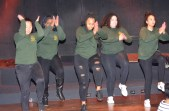 The Park High School Wolf Riders Step Team