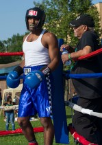 Attendees enjoyed live boxing sanctioned by Circle of Discipline