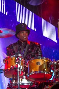 Jellybean Johnson on the drums
