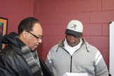 ​(l-r)​ Anthony Scott and Larry Fitzgerald, Sr.