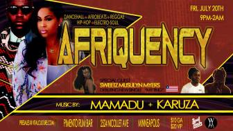 Afriquency #6 Dancehall & Afrobeats party @ Pimento Rum Bar | Minneapolis | Minnesota | United States