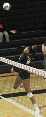 """St. Louis Park senior Gabrielle McCaa, a 6'4"""" middle hitter who is among the top three in kills, solo blocks and total blocks, has committed to continue her collegiate career at the University of Southern California."""