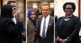 Irene Fernando, Ilhan Omar, Keith Ellison & Angela Conley