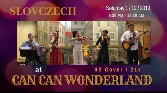 SlovCzech Live at Can Can Wonderland @ Can Can Wonderland