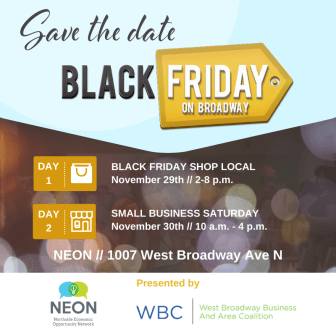 Black Friday on Broadway @ Northside Economic Opportunity Network (NEON)
